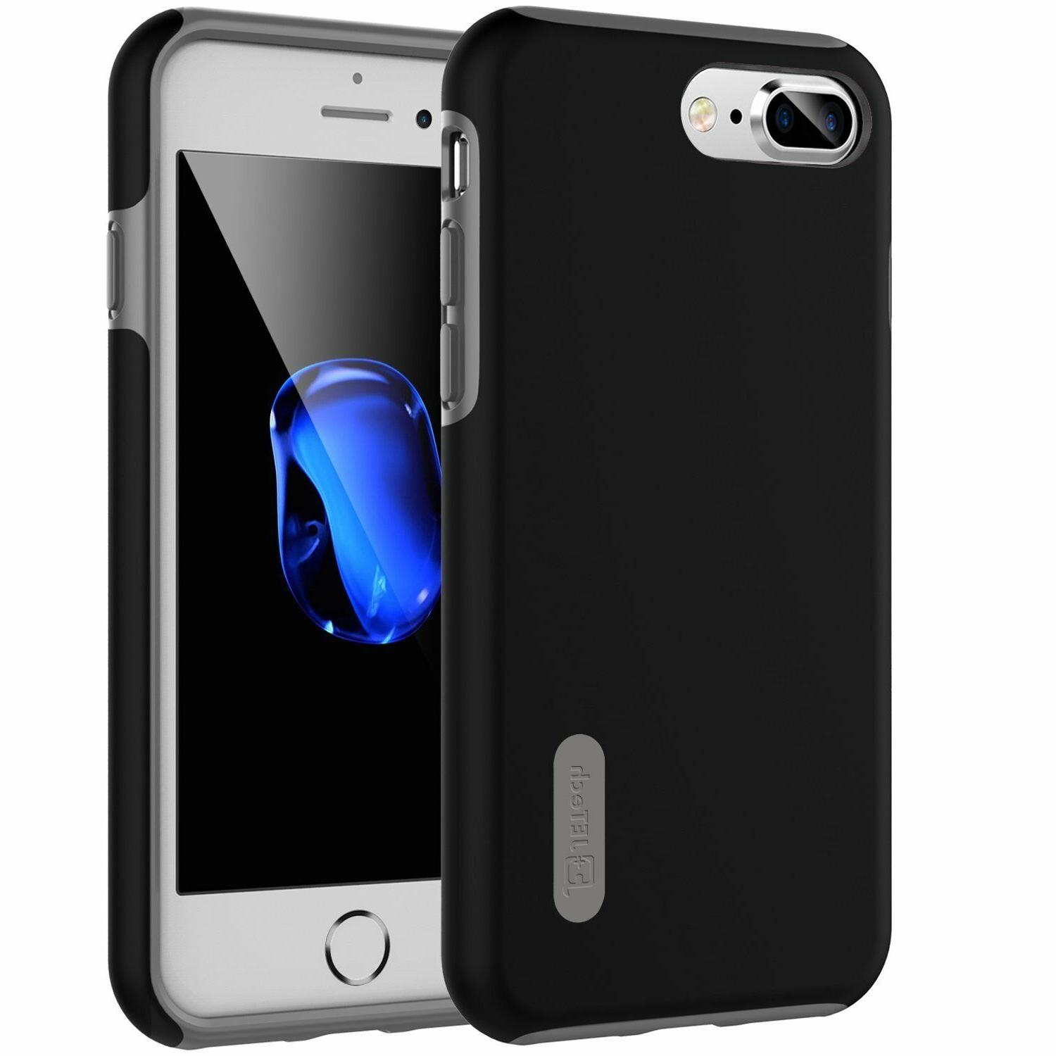 JETech Case for iPhone 8 Plus and iPhone 7 Plus Shock-Absorp
