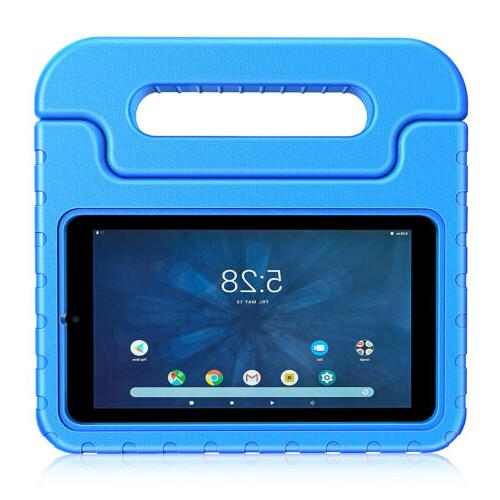 Shock Proof Case for Onn 7 inch Tablet Kids Friendly Handle