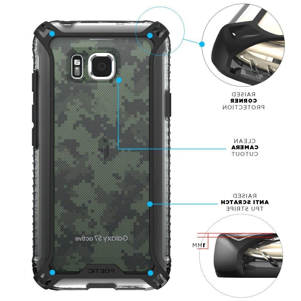 For Galaxy Case Shockproof TPU Clear