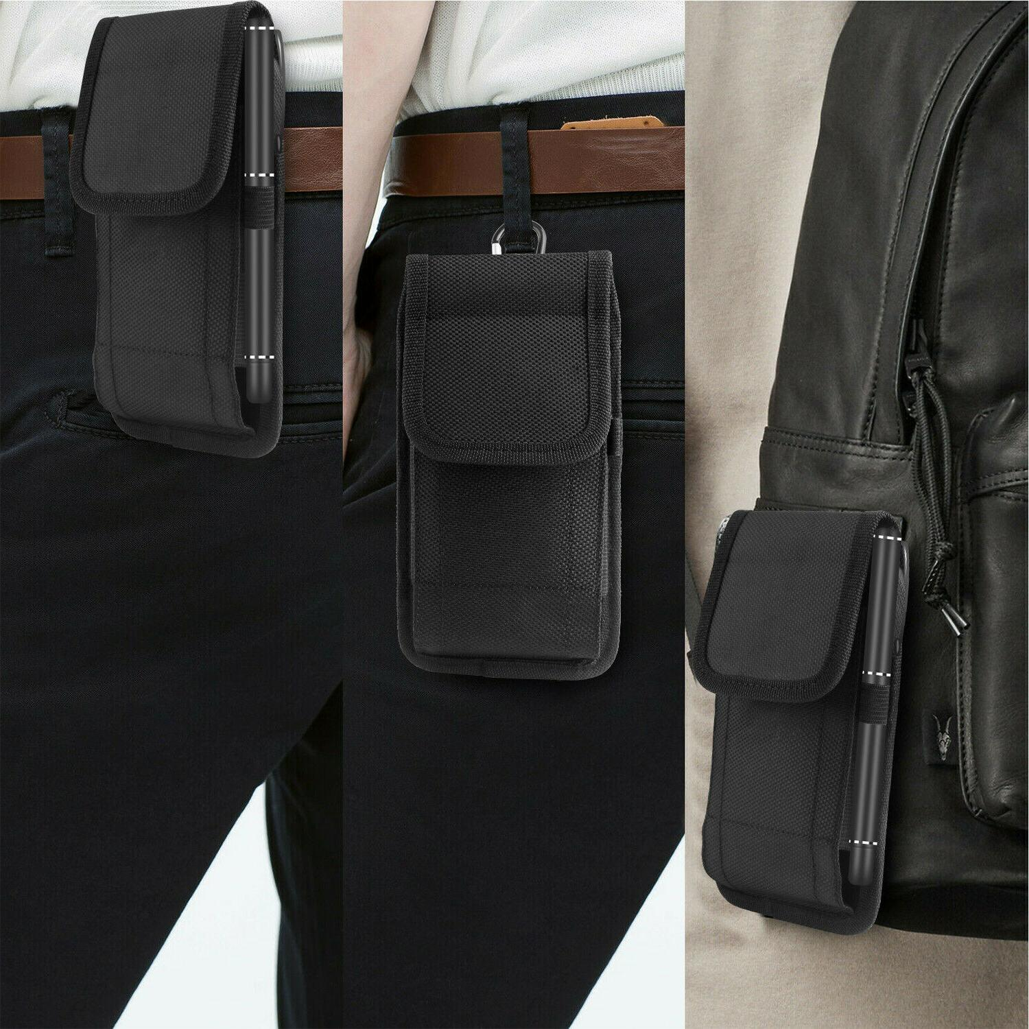 Vertical Holster Pouch Case Belt For iPhone Samsung