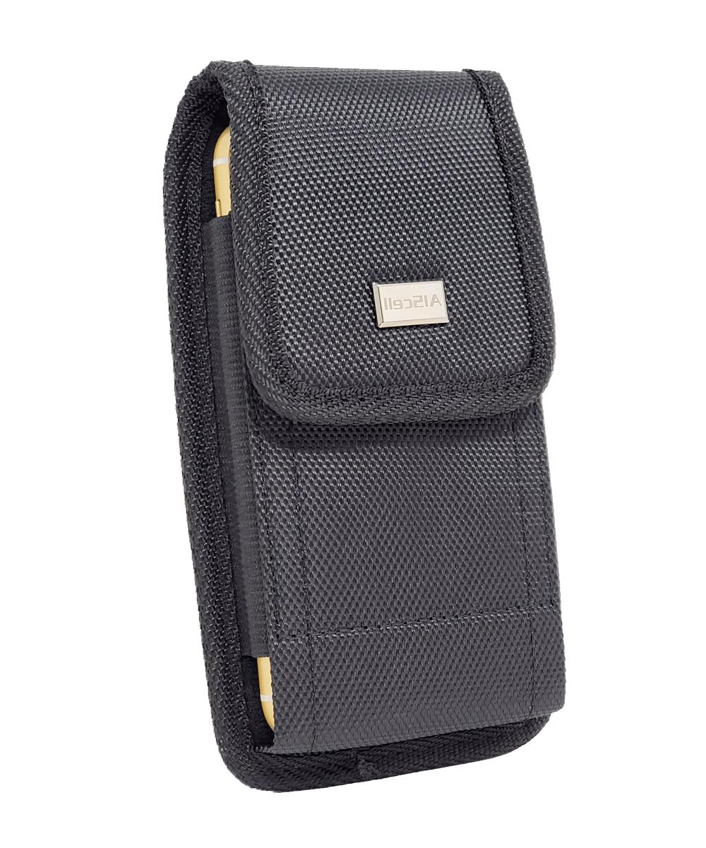 Cell Rugged Carrying Case w/ Metal Belt Clip