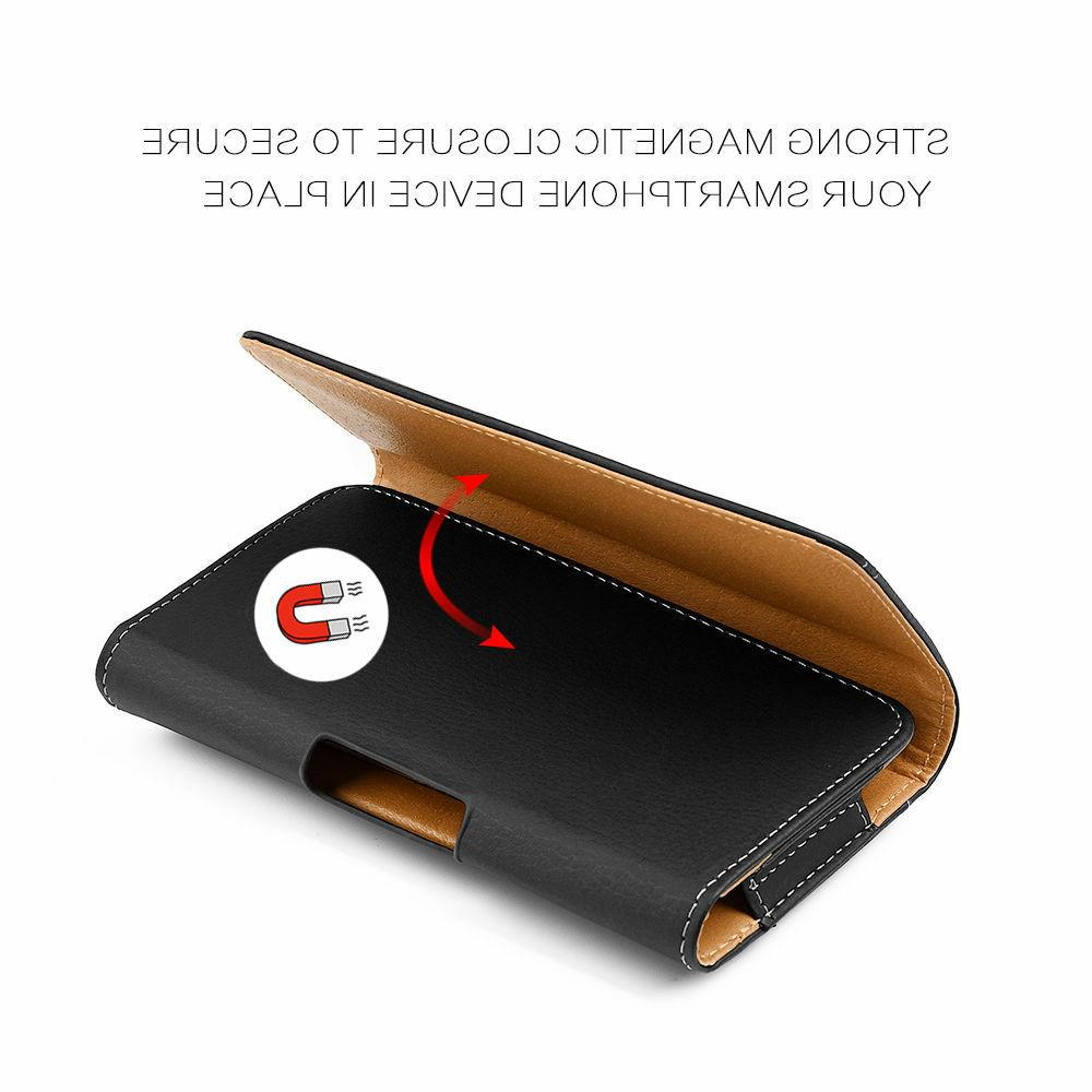Cell Phone Horizontal Leather Carrying