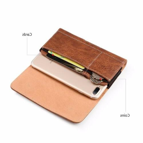 Cell Case Cover for XS Max XR 6s Wallet Cilp