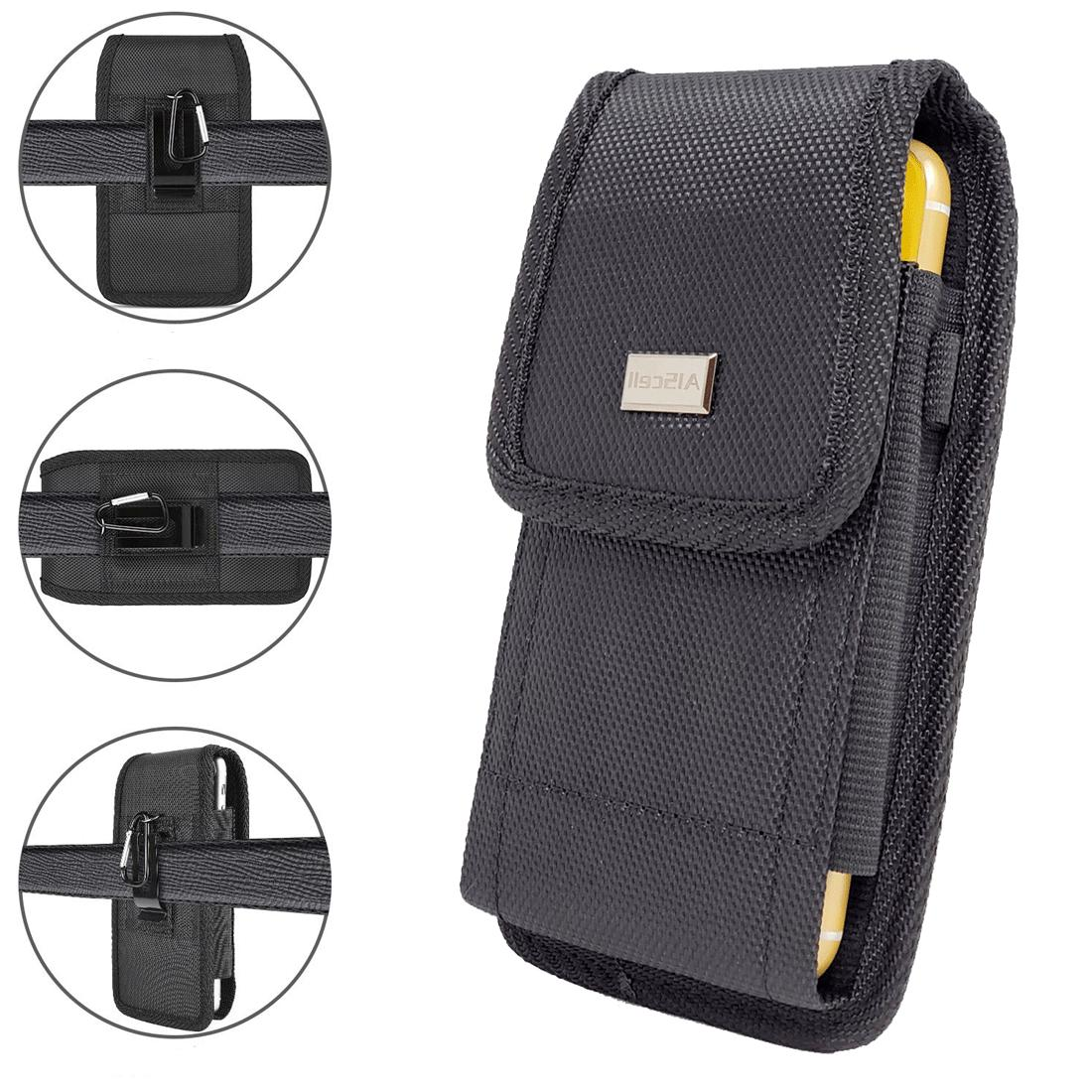cell phone pouch tactical holster metal belt
