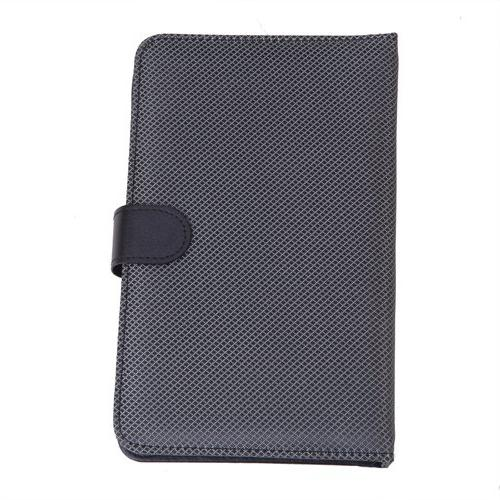 """HDE Diamond Stitch Leather Folding Cover Micro Keyboard for 7"""""""