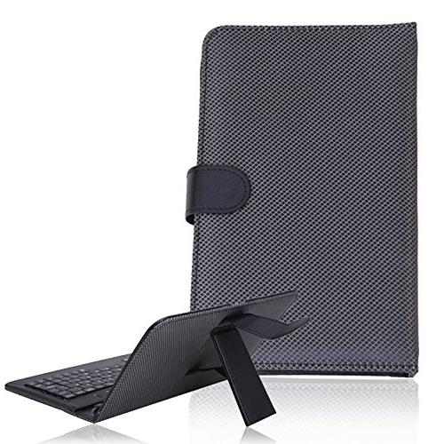 HDE Leather Cover with Micro USB Keyboard