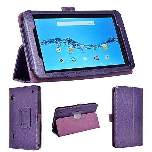 wisers DigiLand DL718M , DL721-RB 7-inch tablet case / cover, purple