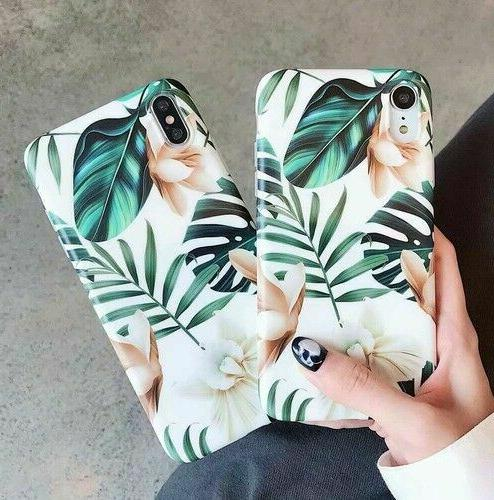 Iphone 8 6S Shockproof Flower Cute Women Case Cover