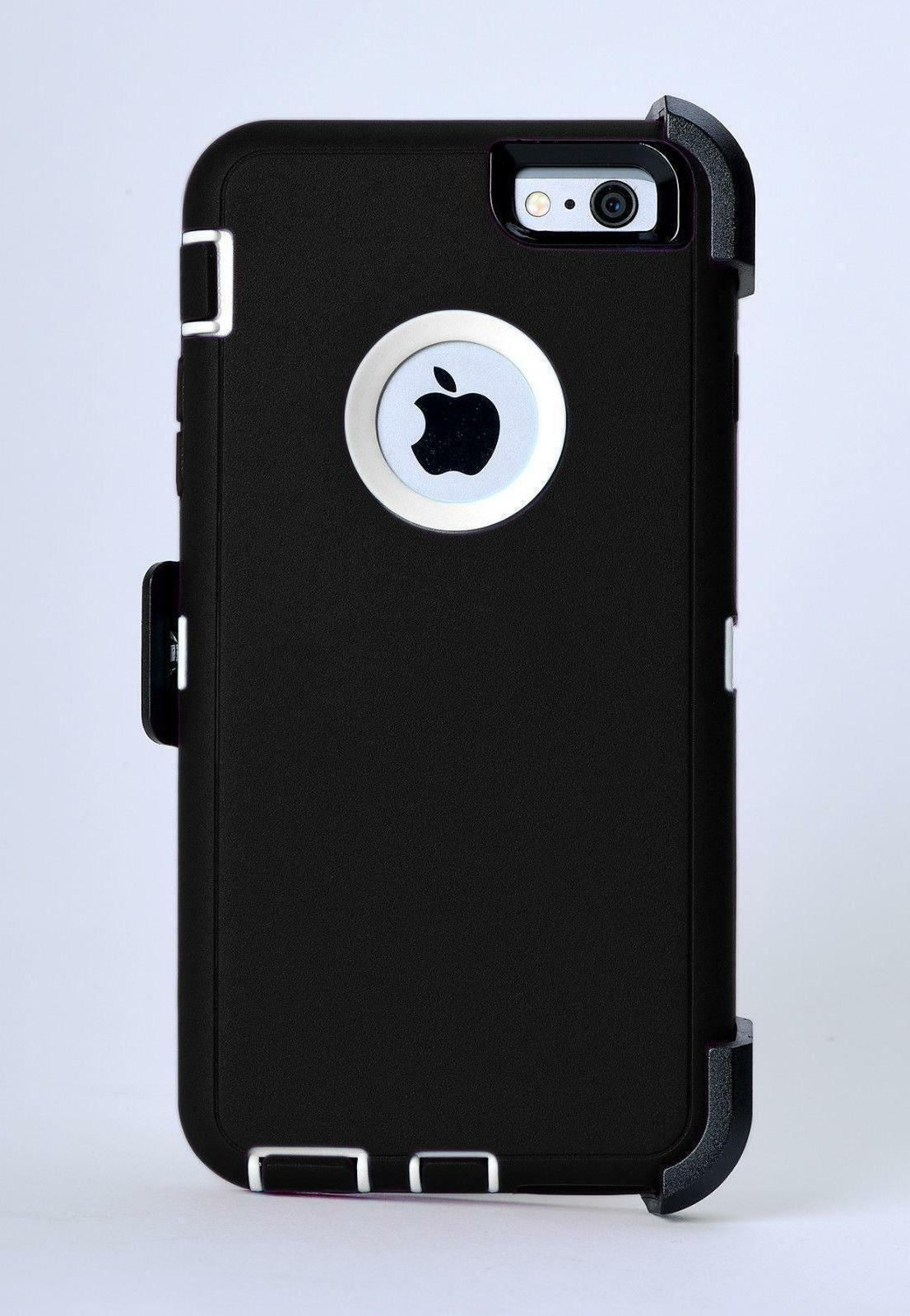 Fits Apple iPhone & Case Cover Defender with Belt Fits Series