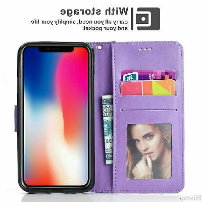 Flip Pattern Case For iPhone Max 8 Stand