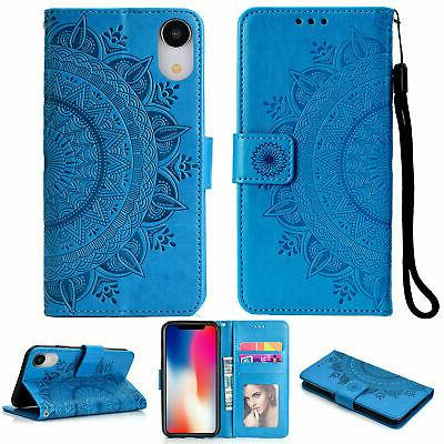 Flip Pattern Leather Wallet Case Stand Cover