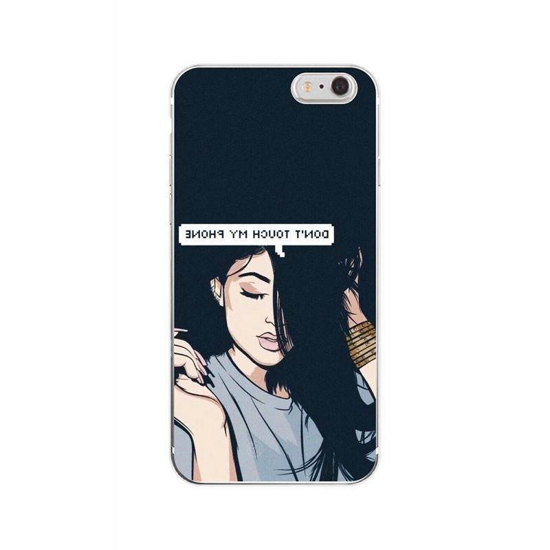 For 5 SE Cover 6S 7 X XS Cute Silicone Phone <font><b>Case</b></font> For <font><b>iphone</b></font> 7