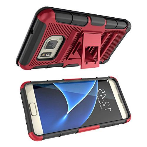 Galaxy S7 Heavy Duty Rugged Resilient Armor Combo Cover Shell Samsung Galaxy S7 S G930 All