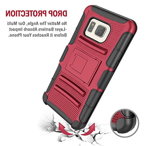 Galaxy S7 Case,TILL Duty Full-Body Rugged Resilient Armor Case Combo Cover Shell Galaxy S7 G930 All