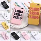 Girls Gang Fun Fashion Happy Quotes Cute Soft Matte Case For