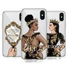 HEAD CASE DESIGNS GOLD QUEENS SOFT GEL CASE FOR APPLE iPHONE