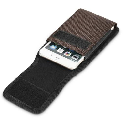 Heavy Duty Cell Phone Pouch Case Holster Belt US