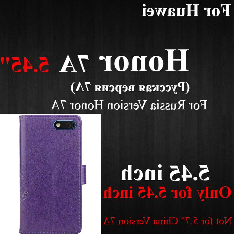 Honor 7A for Honor 7A <font><b>Case</b></font> silicone 5.45 Leather Phone Huawei Honor A <font><b>Case</b></font>