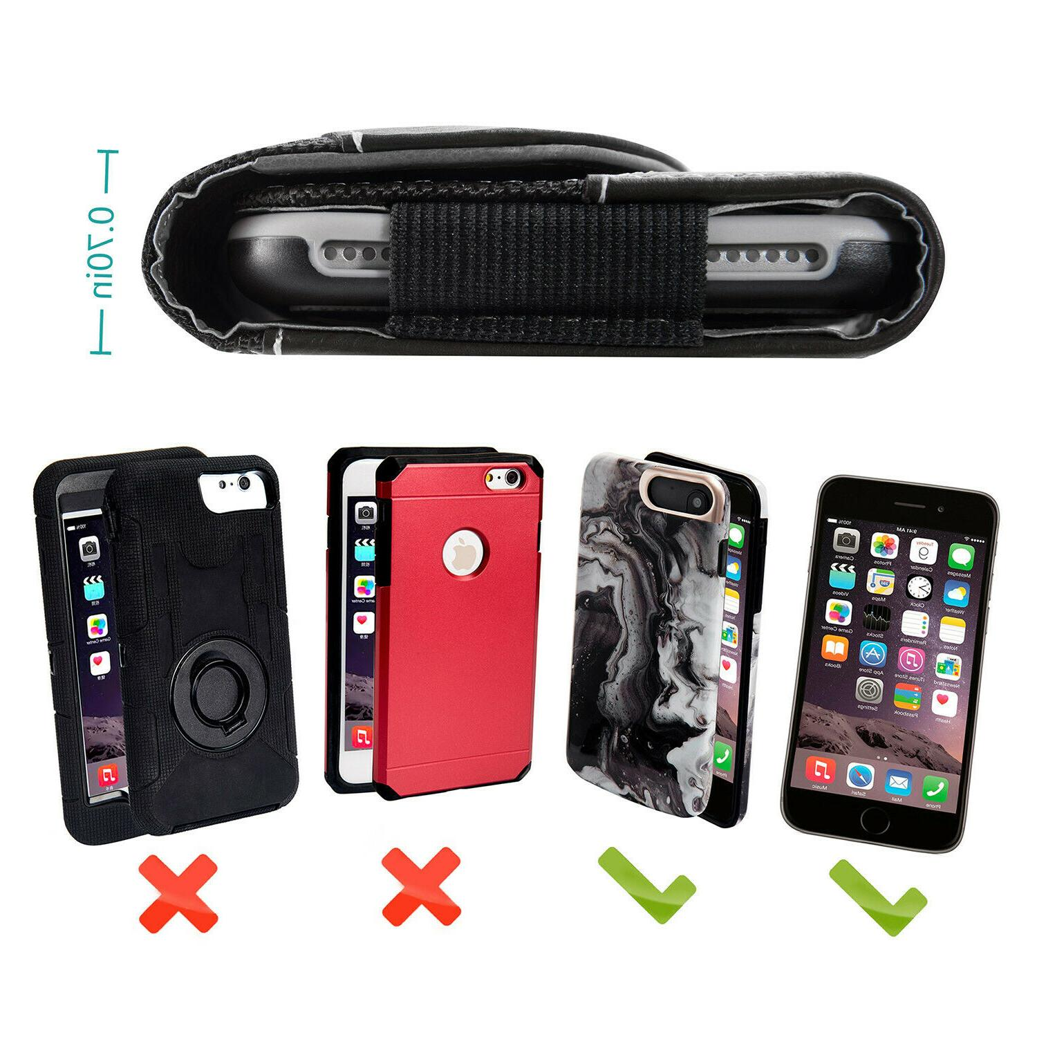 Horizontal Cell Phone Pouch Case Carrying