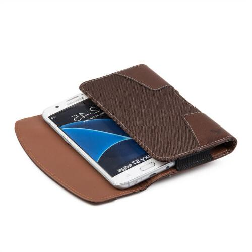 Luxmo Samsung iPhone Cell Phone Belt Clip Pouch Sleeve Case