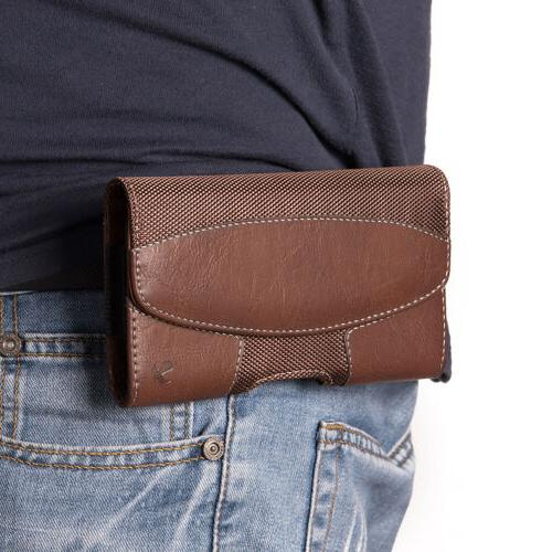 Luxmo Samsung Phone Belt Clip Sleeve Carrying