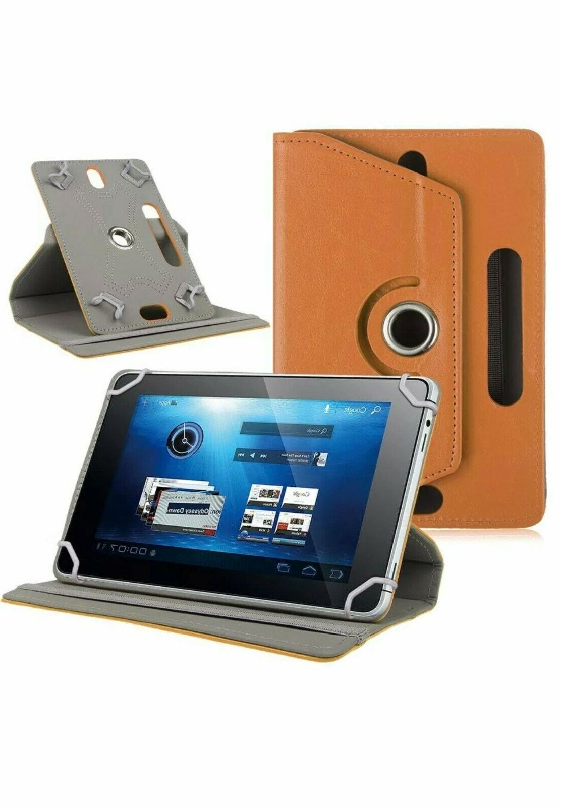 """Hot 360° Case Stand Android Tablet 8"""" 10"""" 10.1"""""""