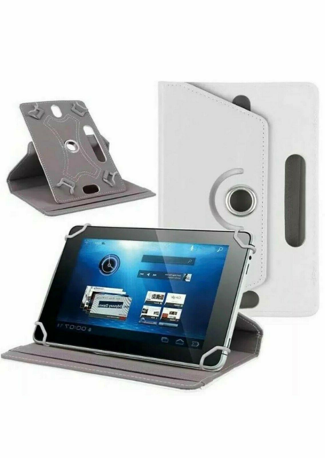 """Hot 360° Folio Case Cover Stand For Android Tablet 8"""" 9"""" 10.1"""""""
