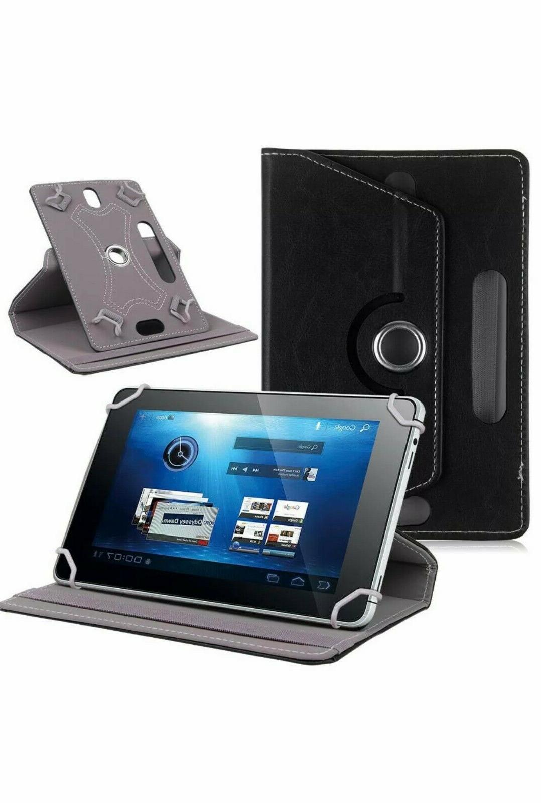 """Hot 360° Folio Case Cover For Android Tablet PC 8"""" 9"""" 10"""" 10.1"""""""