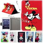 """HOT Sale For 7"""" 10"""" Android Tablets Disney Universal Leather"""