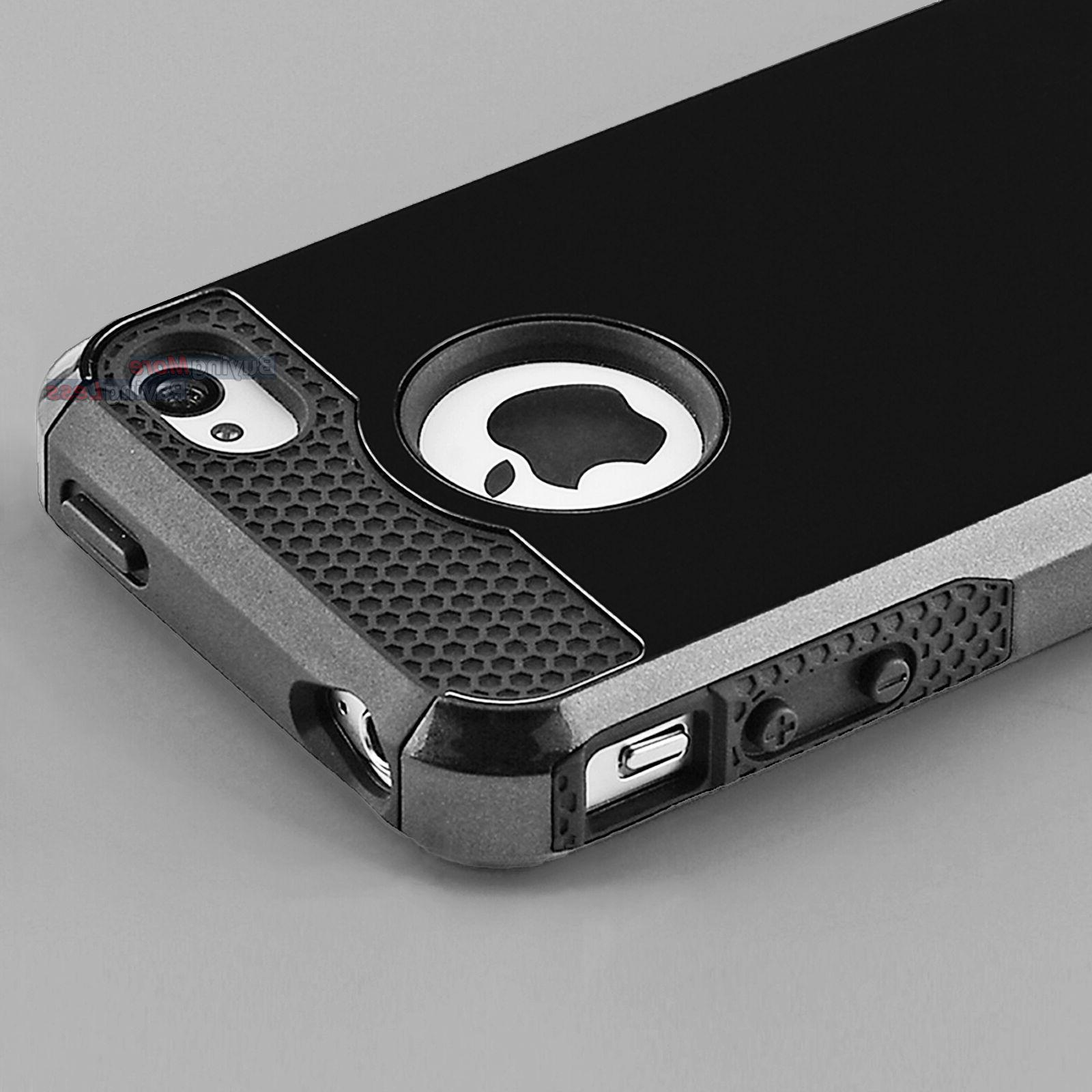 hybrid shockproof hard and soft cover case