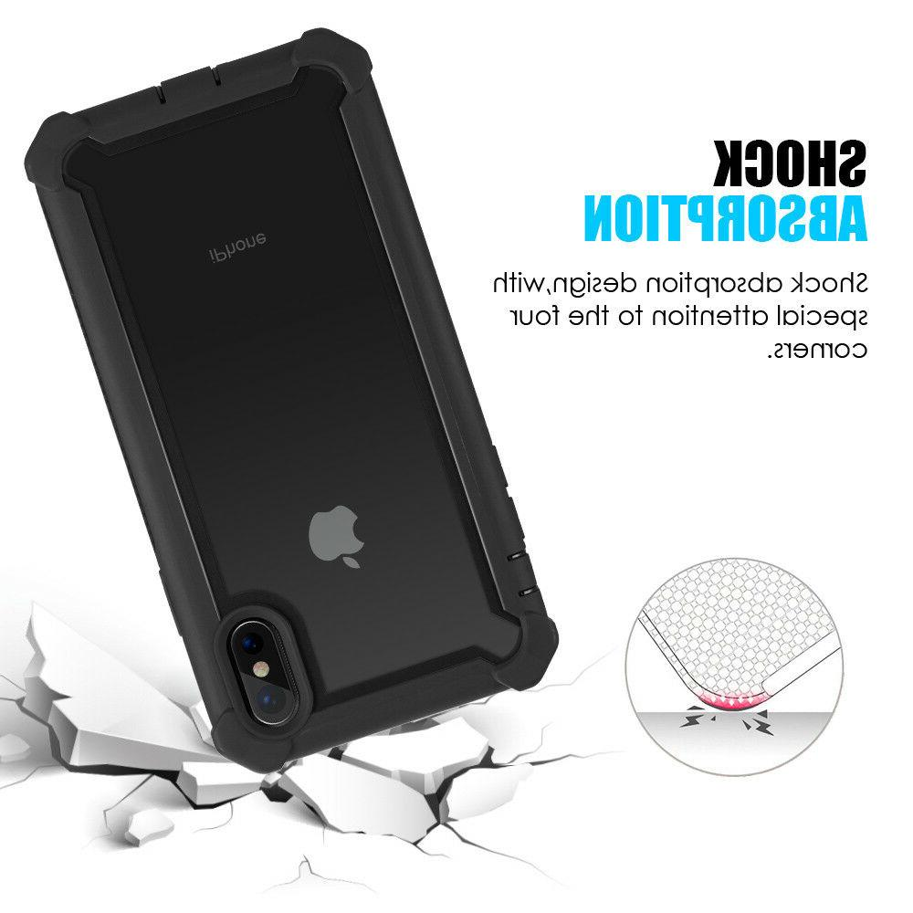 Hybrid Heavy Clear Case Fits iPhone