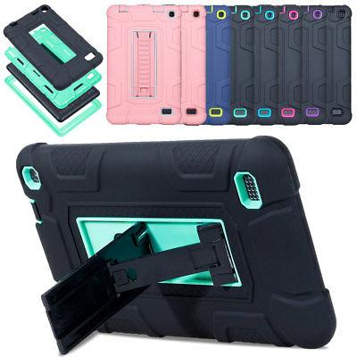 hybrid shockproof heavy tablet case cover