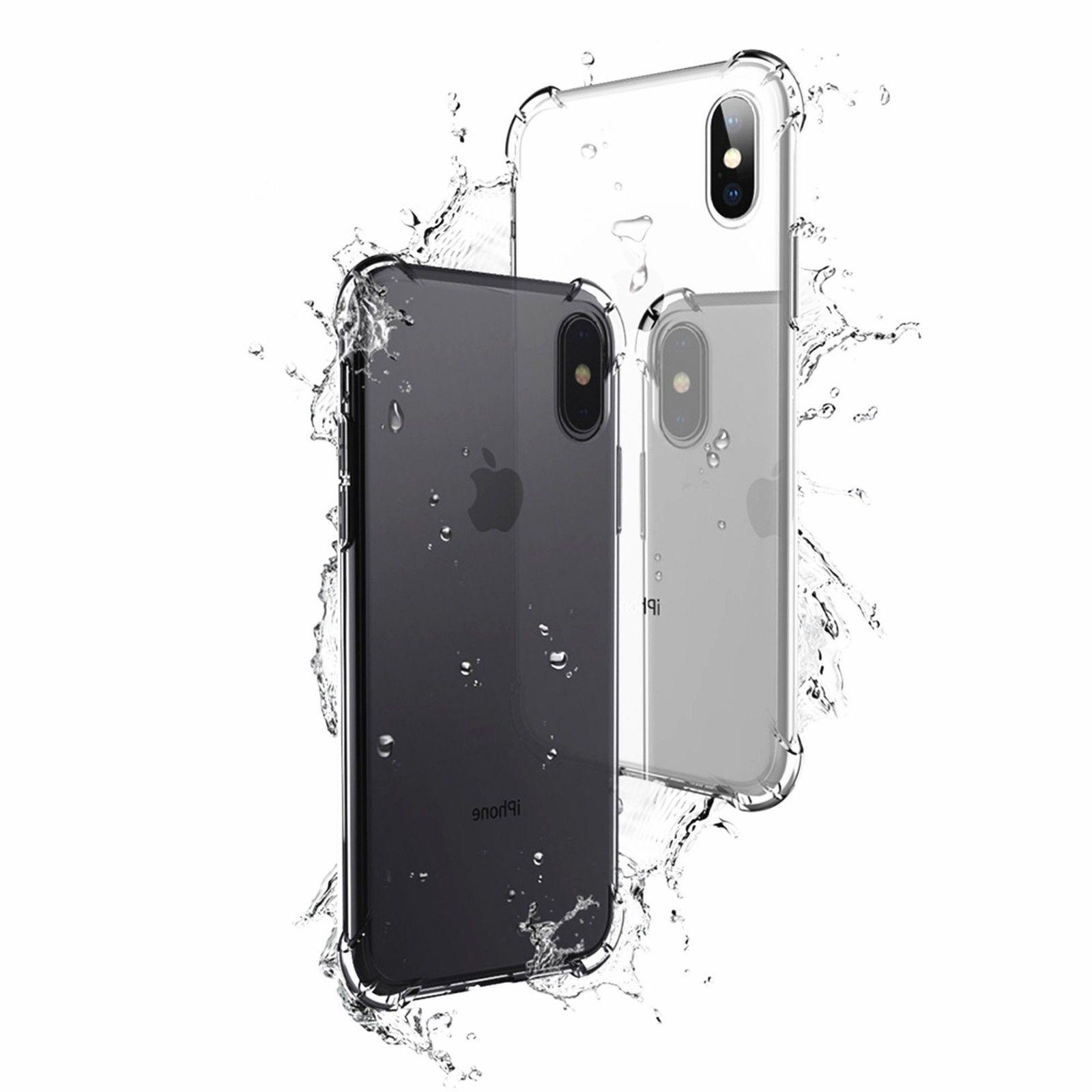 Hybrid Shockproof Clear TPU Case iPhone