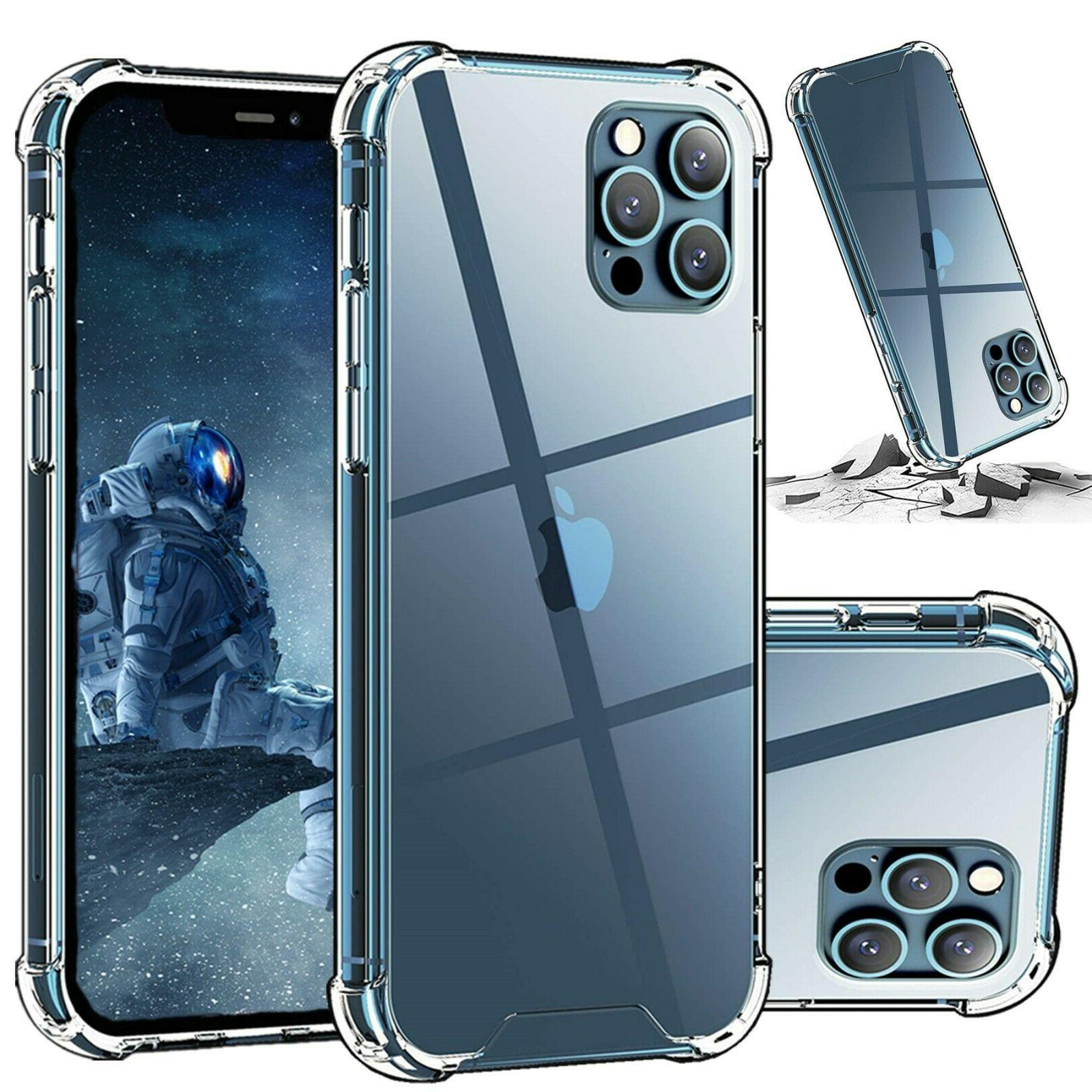 hybrid shockproof thin clear tpu bumper case