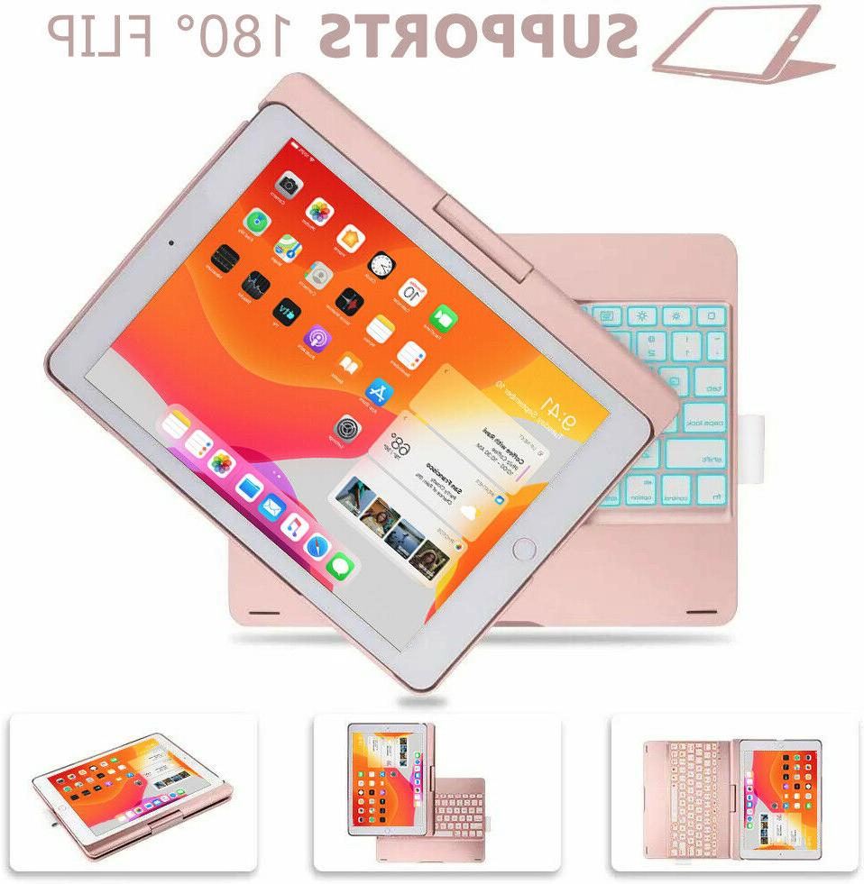 iPad 7th 2019/10.5/Air Bluetooth Case w/ Colors