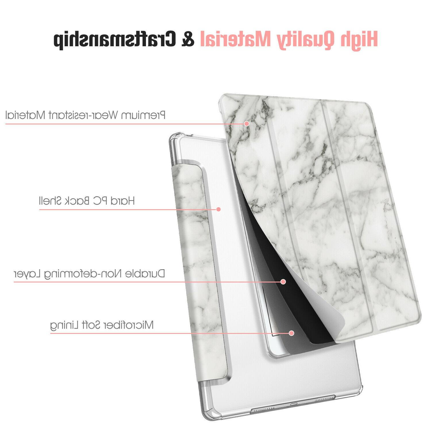 """For 10.2"""" 7th Gen 2019 SlimShell Frosted Back Cover"""