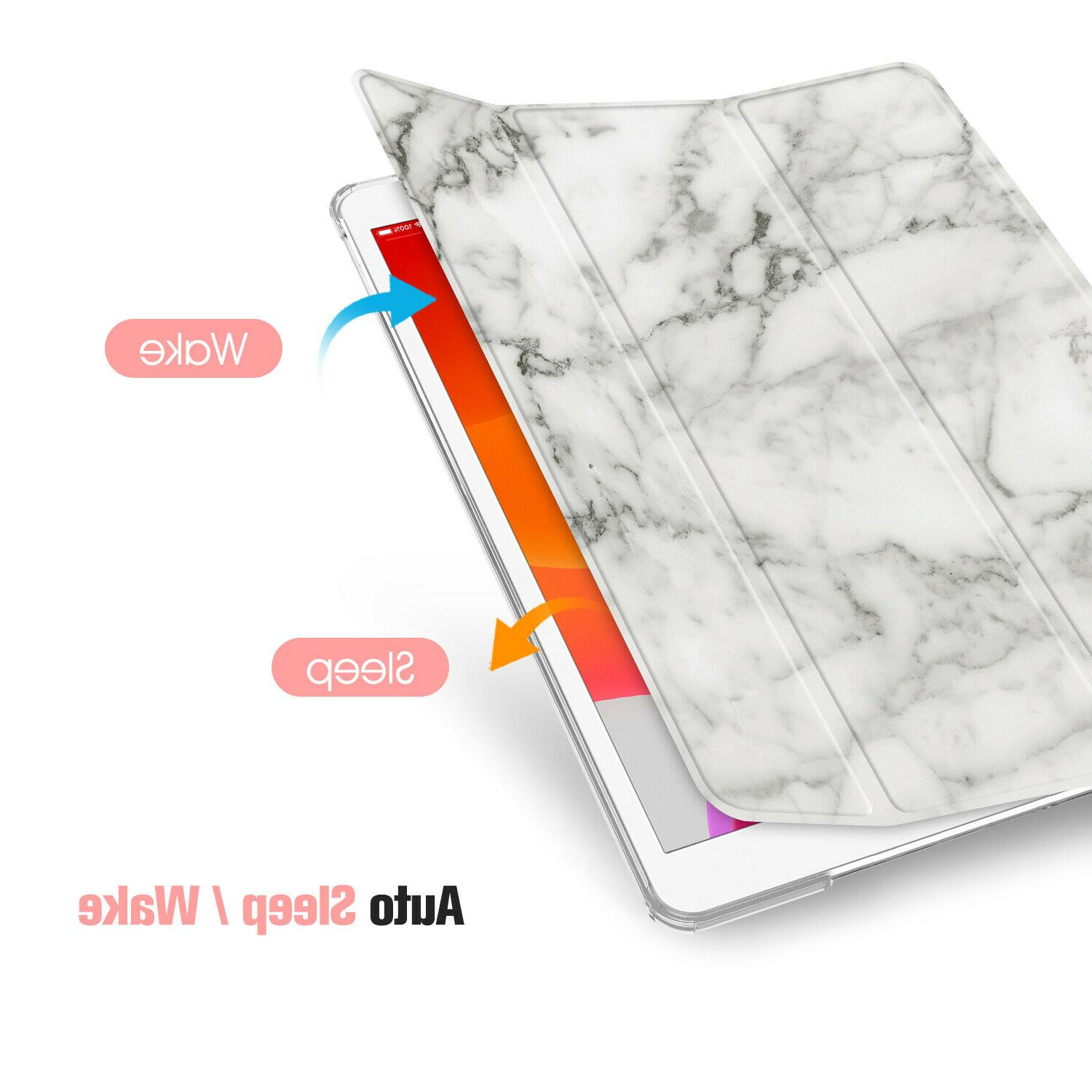 For iPad Gen 2019 Tablet Case SlimShell Frosted Cover