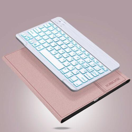 "For iPad 10.2"" 2019 Bluetooth Case with Backlit keys"