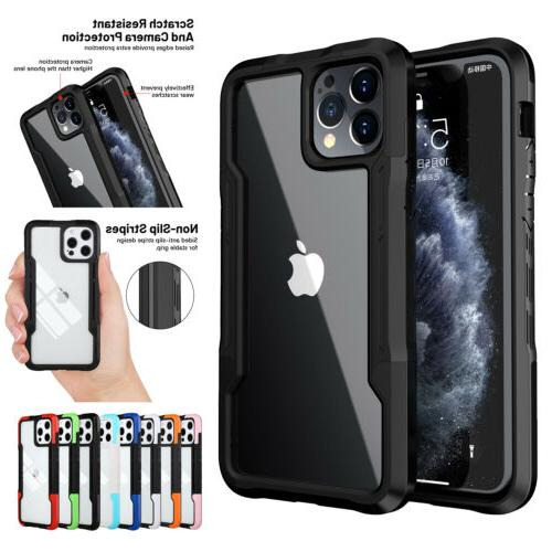 For iPhone 8 SE2 Shockproof Bumper Clear Cover