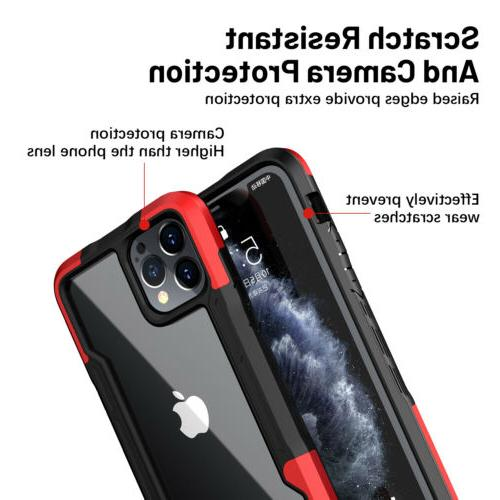 For iPhone 11 Pro XS Shockproof Clear