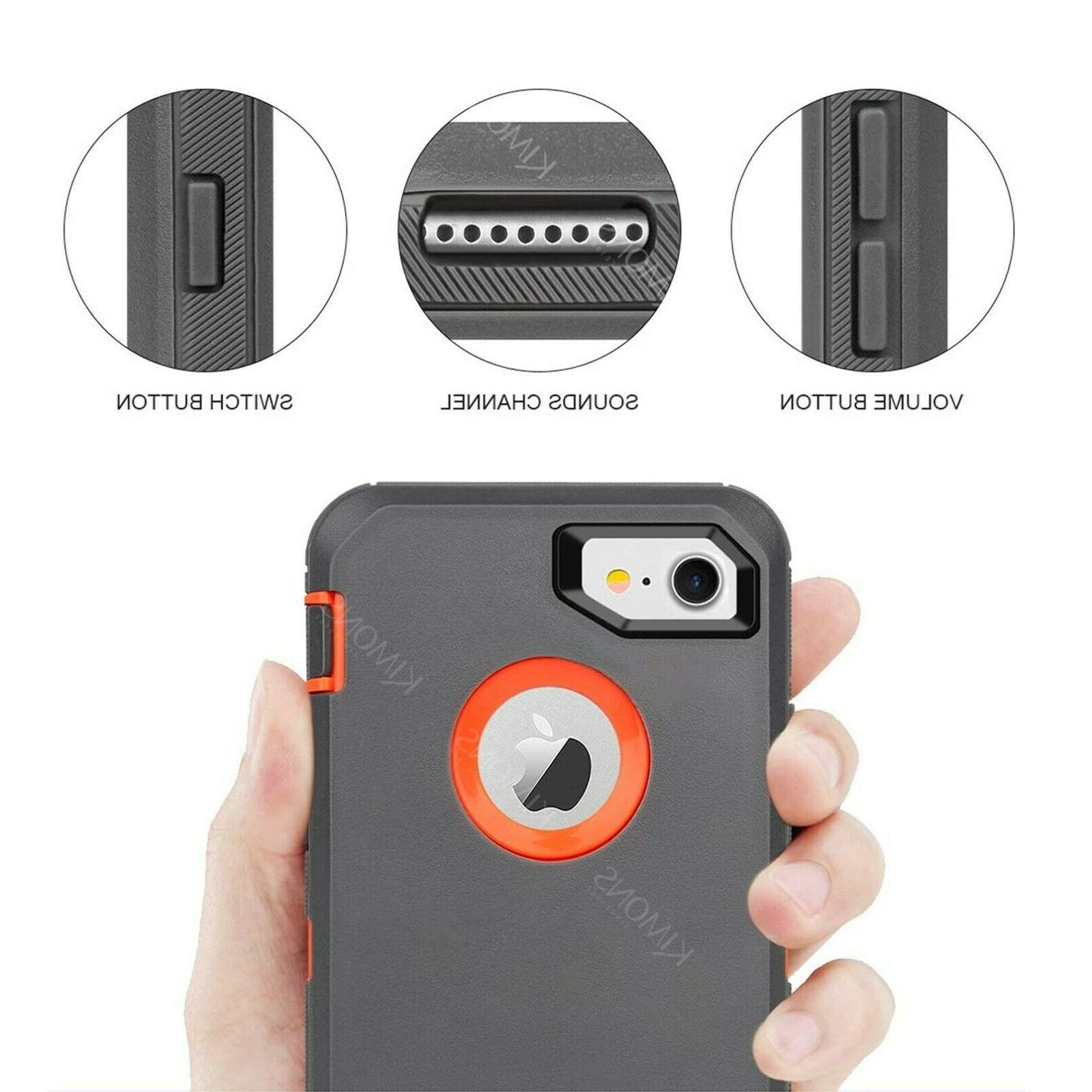 iPhone Pro Max 6 X Shockproof Case Cover