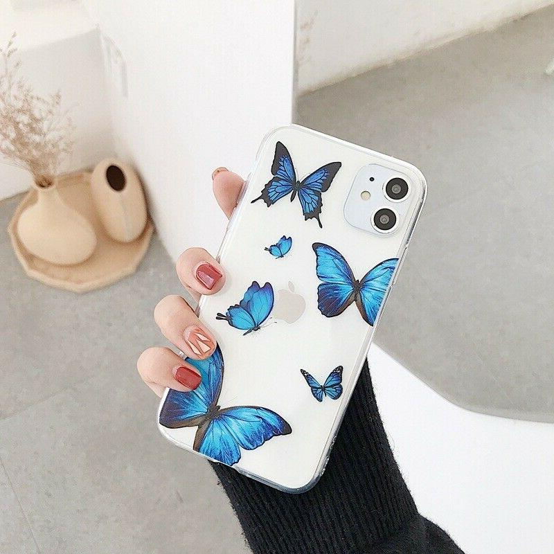 For iPhone 11 Pro Max, X/XR/Xs Max, 7/8, SE2 Cute TPU Soft