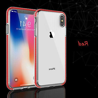 For iPhone 11 Max XR XS 8 7 6 Shockproof Hybrid Bumper Cover