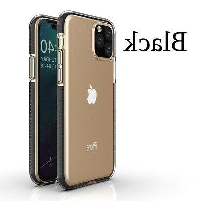 For iPhone 11 Max 7 Plus Shockproof Hybrid Bumper Cover