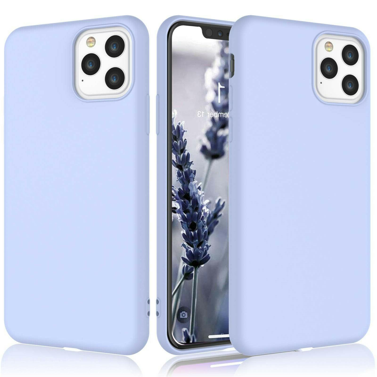 For iPhone 11,Pro,Xs Max,Xr,6,6S,7,8 Plus Genuine Silicone Case
