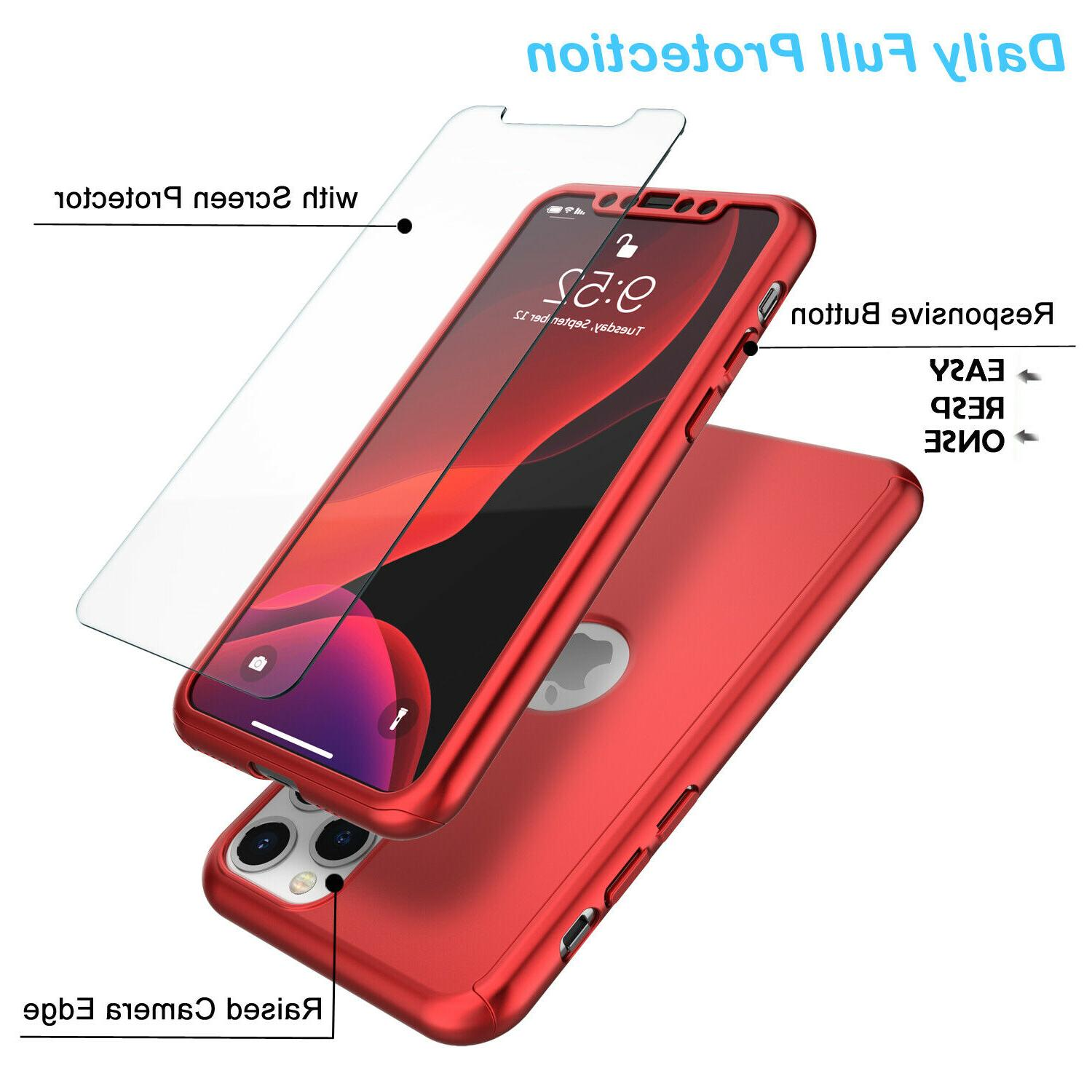 For 11,Pro,Xs Max,Xr,6,6S,7,8 Plus Protector Full
