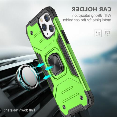 For iPhone 12 Pro Max XR 8 7 SE2 Magnetic Ring Stand Hard