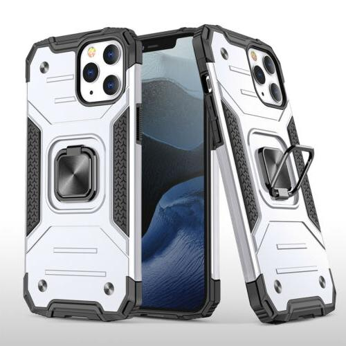 For iPhone 11 Pro Max XR 8 Ring Hard Cover