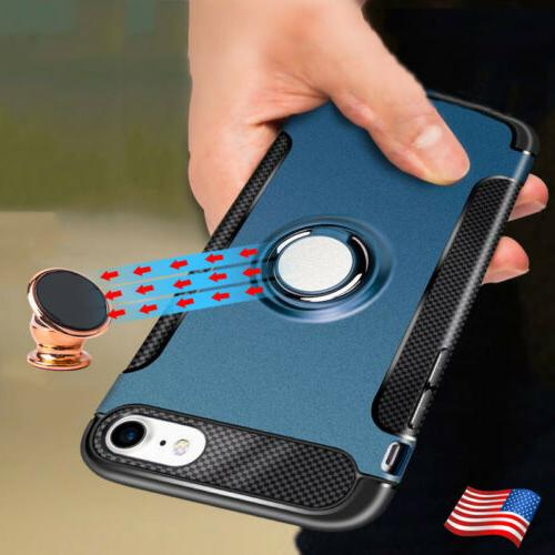 For iPhone 5 7 Cover Luxury With Finger Ring Holder