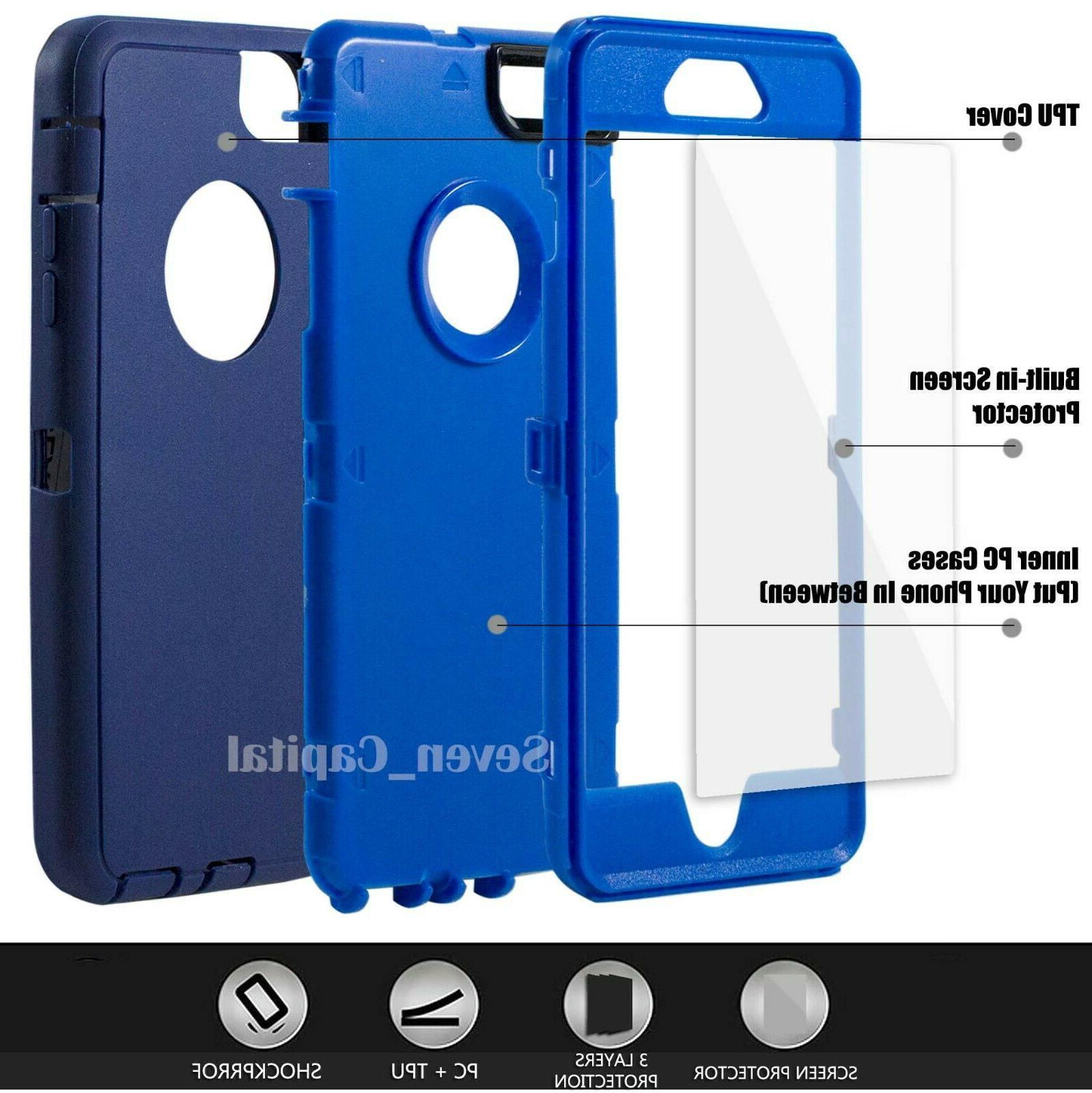 For 6 6s 7 SE 2 Case Cover Screen
